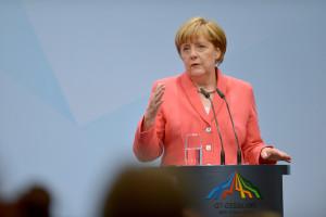 Angela Merkel - mulher mais poderosa do mundo, segundo a Forbes. Foto: Michael Gottschalk/ Governo da Alemanha | fotospublicas.com.