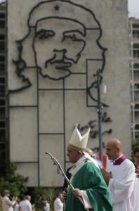 Papa Francisco durante a missa em Havana, Cuba. Foto: Ismael Francisco/ Cubadebate fotospublicas.com.