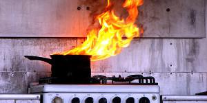 cozinha fogo