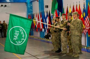Cerimônia marca fim dos treze anos de ocupação da OTAN no Afeganistão. Foto: ISAF | fotospublicas.com.