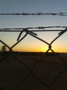 Zaatari - campo de refugiados visitado pela autora. Foto: Salam Alhaddad.