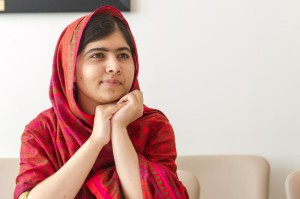 Malala Yousafzai, a jovem ativista paquistanesa. Foto: Mark Garten/UN | fotospublicas.com.