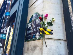 Homenagem às vitimas dos atentados no centro de Paris. Foto: Vincent Gilardi/Fotos Publicas
